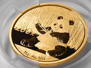 熊猫金币回收价格表 5盎司金币回收价7